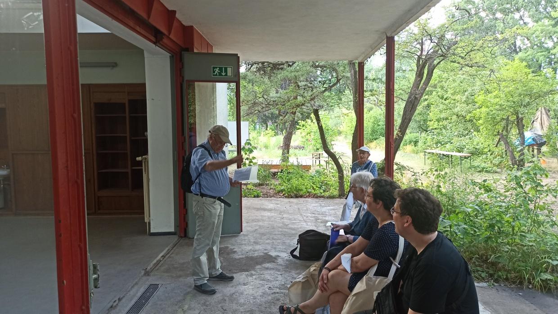 Zum Welthumanist_innentag im Pavillon von Bruno Taut
