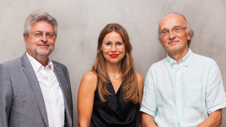 Vorstand Humanismus Stiftung Berlin: Manfred Isemeyer (Vorsitzender), Stefanie Krentz, Frank Schrammar (stellv. Vorsitzender)