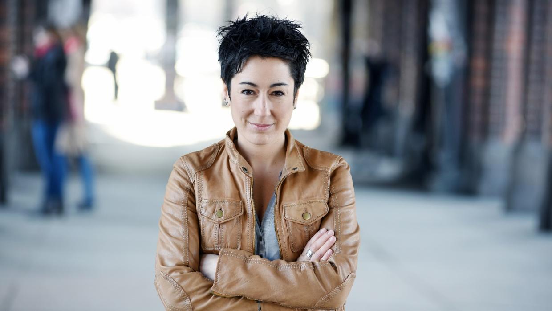 Die Journalistin und Fernsehmoderatorin Dunja Hayali erhält den Flechtheimpreis für Demokratie und Menschenrechte 2018.