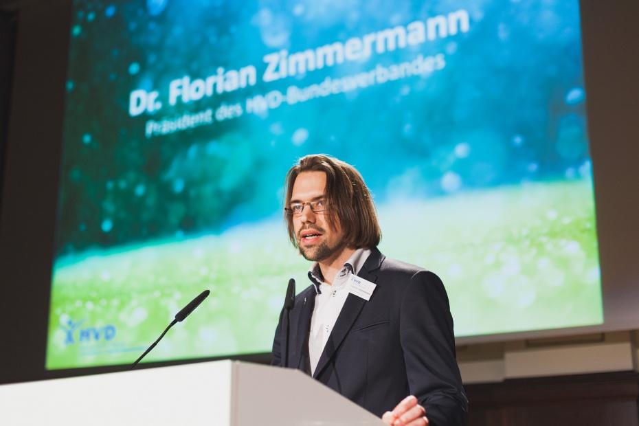 Florian Zimmermann, Präsident des Humanistischen Verbands Deutschlands