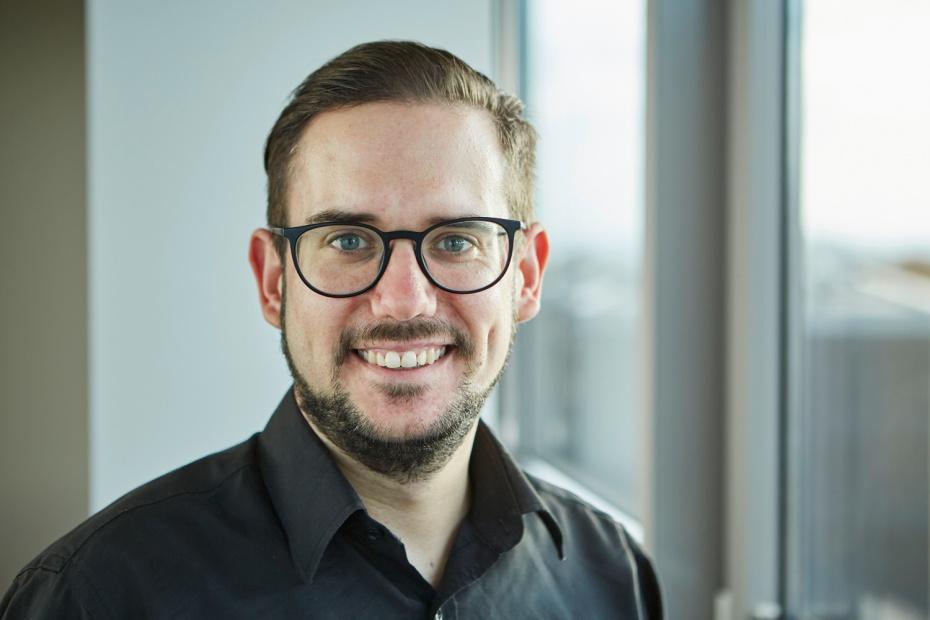 Foto: Timo Saueressig, Präsident der Humanistischen Gemeinschaft Hessen (HuGH)