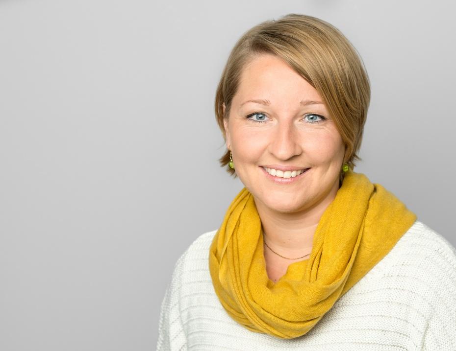 Katja Labidi, verantwortlich für die Arbeit mit Geflüchteten im Humanistischen Verband Berlin-Brandenburg KdöR