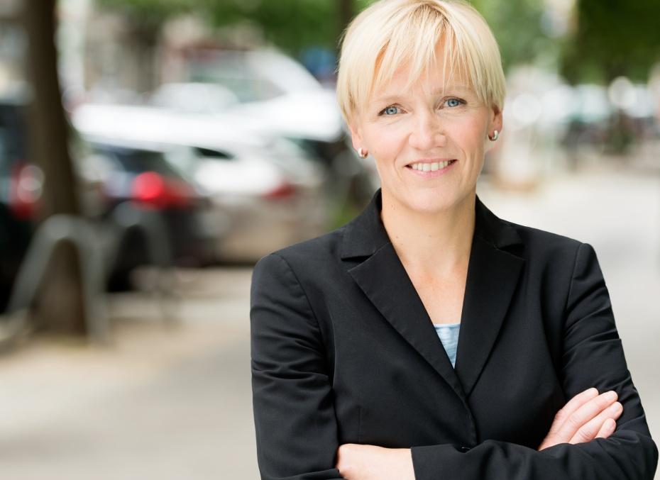 """Katrin Raczynski, Vorstandsvorsitzende im Humanistischen Verband Berlin-Brandenburg, sieht in den protestierenden Schülern """"keine Schulschwänzer_innen, sondern die Hoffnungsträger_innen der Zukunft"""""""