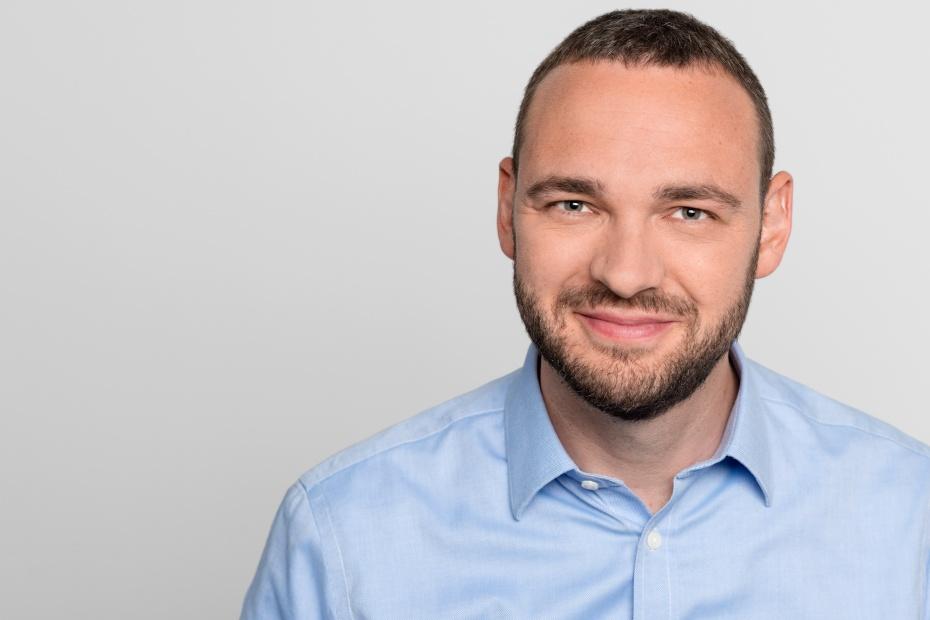 David Driese, Vorstand im Humanistischen Verband Berlin-Brandenburg und zuständig u.a. für Bildungsfragen.